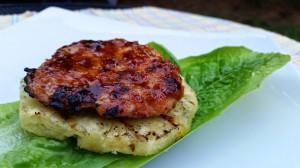Grilled Teriyaki Chicken Burgers