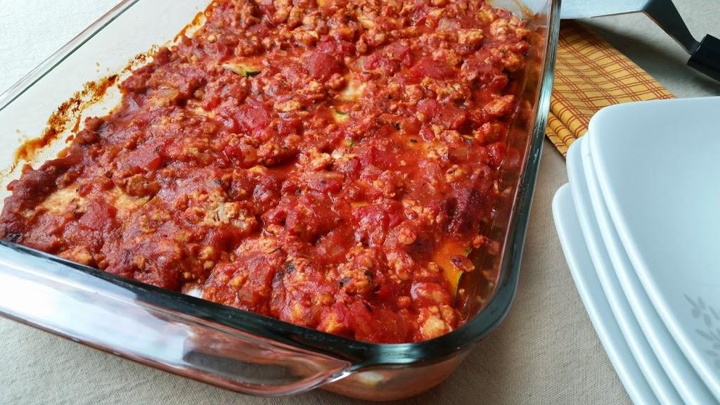 Chicken Zucchini Lasagna {Grain-Free & Dairy-Free}