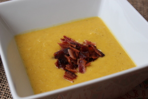 Savory Pumpkin-Apple Soup {Dairy-Free}