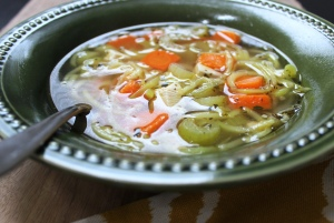 Quick and Easy Chicken Zoodle Soup
