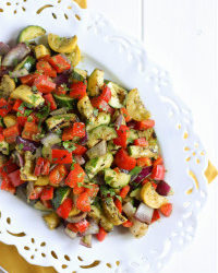 Pesto Grilled Veggies