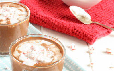 Peppermint Hot Cocoa {Dairy-Free}