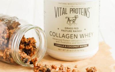 Vanilla Spice Grain-Free Granola {with Vital Proteins Collagen Whey}