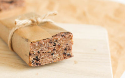 Chocolate Cherry Energy Bars {with Vital Proteins Collagen Whey}