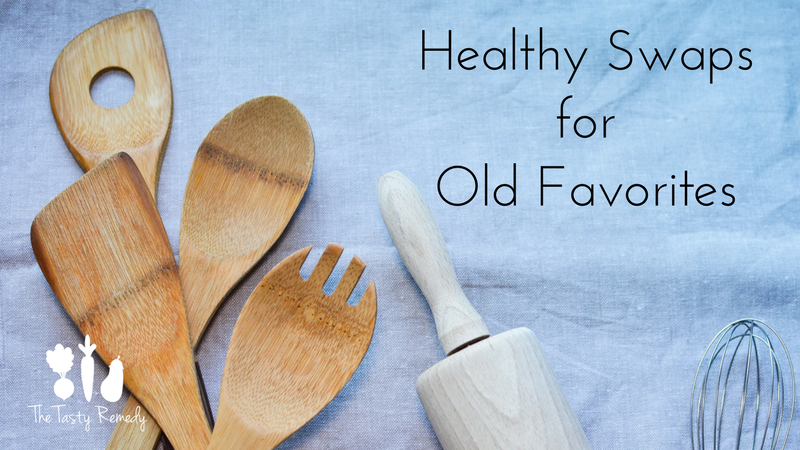 Healthy Sways for Old Favorites | thetastyremedy.com
