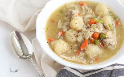 Grain-Free Chicken and Dumplings