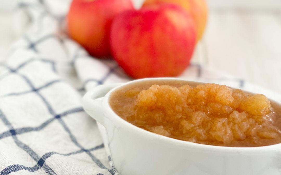 5-Minute Applesauce